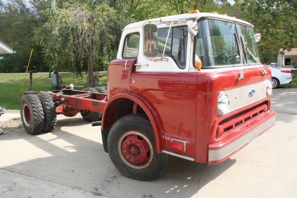 Very Rare, 1985 Ford Cabover Truck | Auto Restorationice