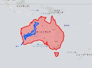 国 面積 大きさ 比較 世界地図 ツール サイト