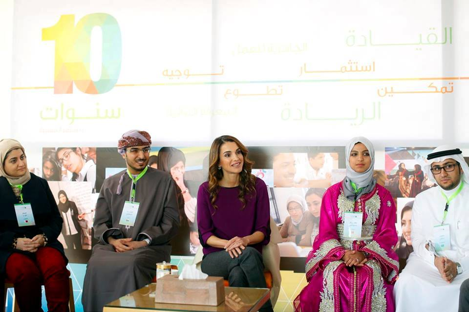 Queen Rania Family Named one of the top 100 NGOs