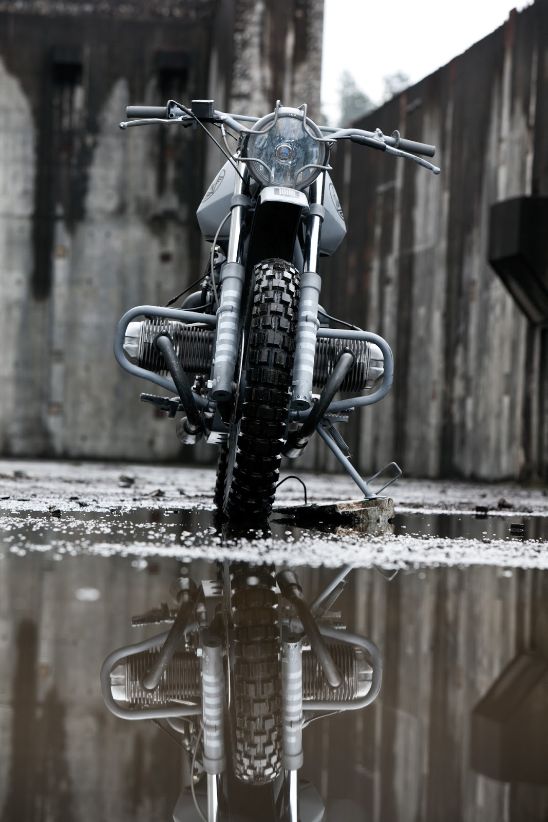 Quartermaster Motorcycle [ Quartermaster Motorcycle price yet to be announced ] The Quartermaster Motorcycle is a URAL x ICON collaborative project designed to increase the long distance off-road capacity of the URAL Solo.