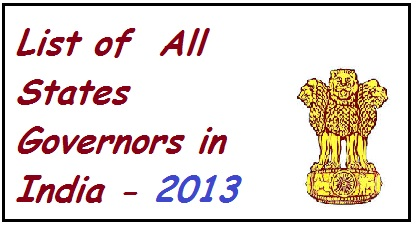Governor of Indian States in India