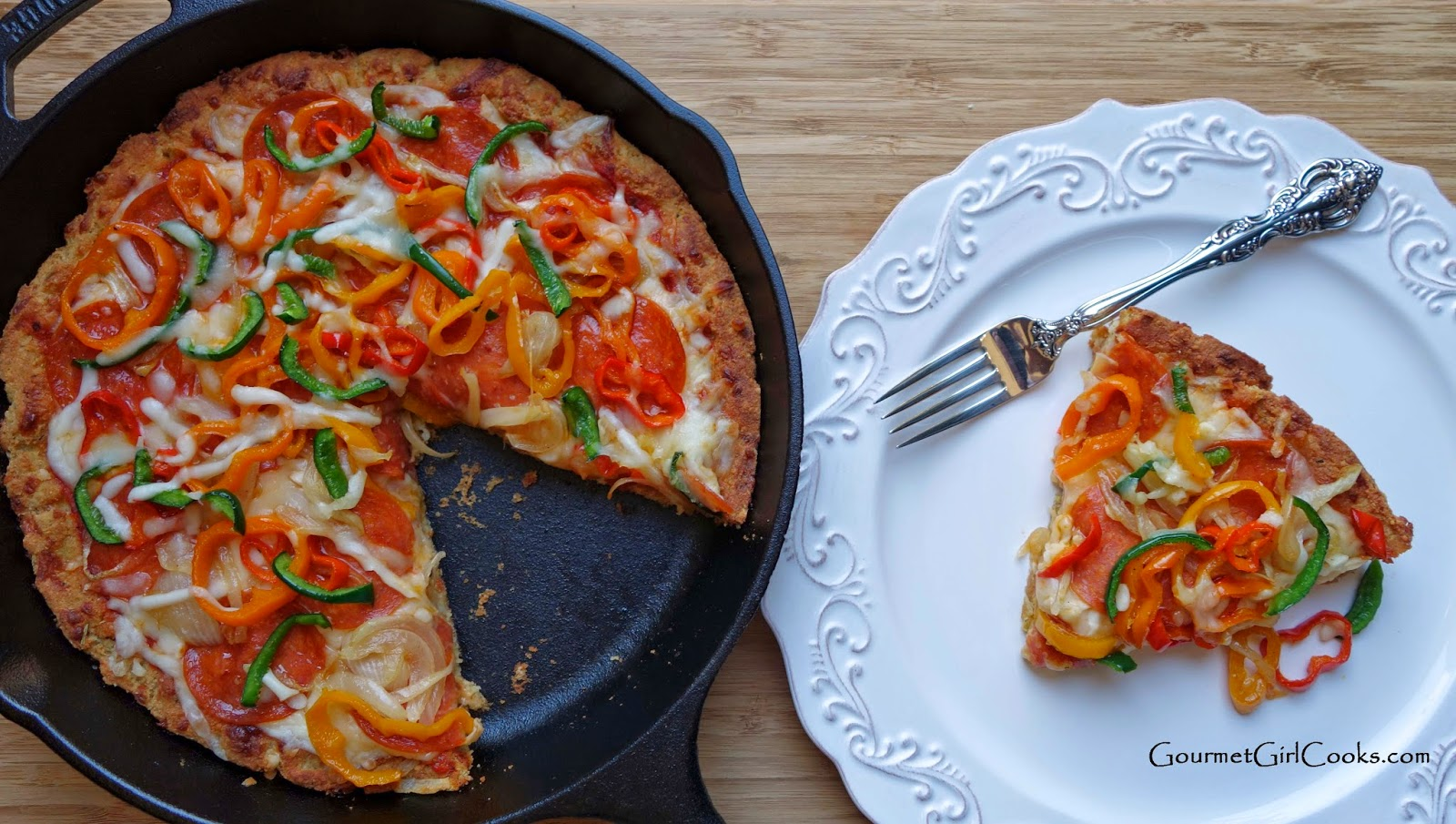 Gourmet Girl Cooks: Chicago Style Deep Dish Skillet Pizza ...