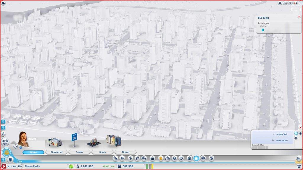 Рекорд SimCity 2013 - город 600 тыс жителей