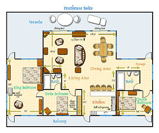 Perfect Living Room Floor Plans