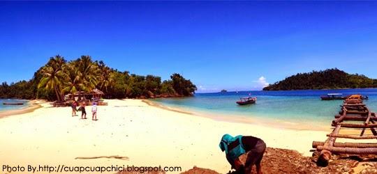 Pulau pemutusan padang tempat wisata yang eksklusif