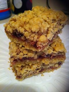 Blackberry Jam Cake With Caramel Icing