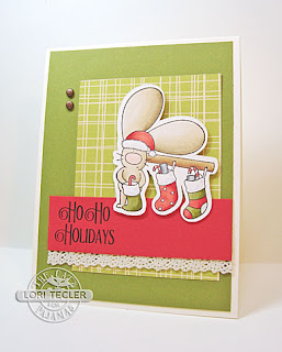Ho Ho Holidays card-designed by Lori Tecler/Inking Aloud-stamps from The Cat's Pajamas