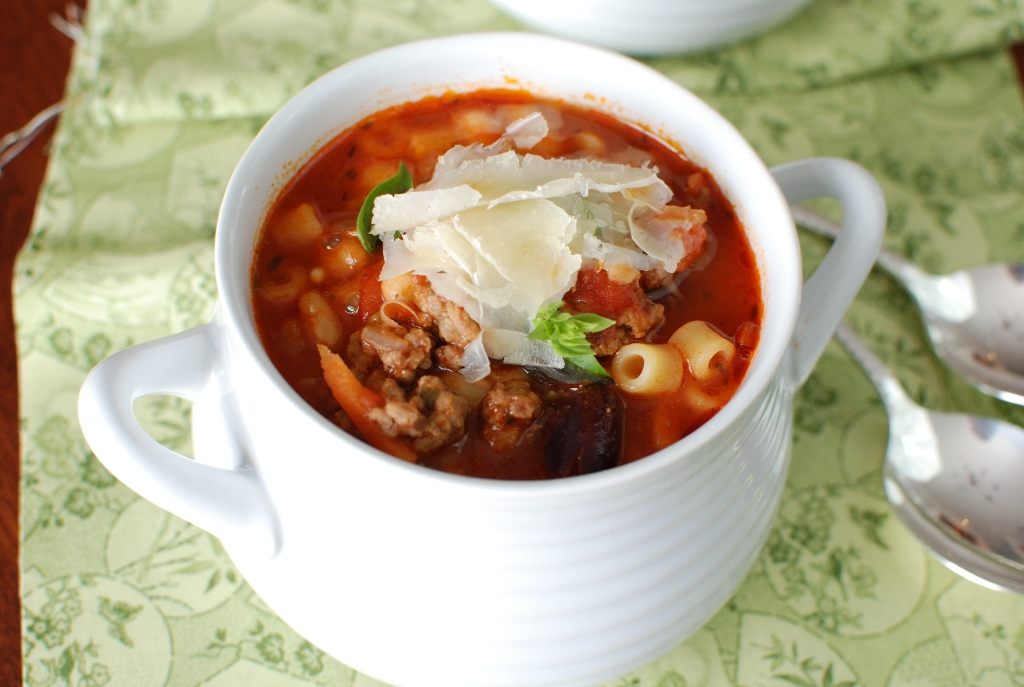Simply So Good: Pasta e Fagioli Soup