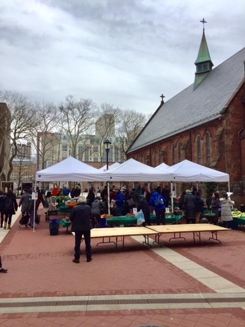 Roosevelt Island Saturday Farmers Market At Good Shepherd Plaza