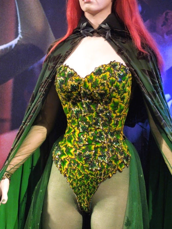 Poison Ivy leaf corset detail Batman and Robin