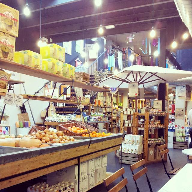 Woki organic market Barcelona