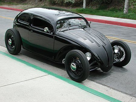 how to build a beetle hot rod