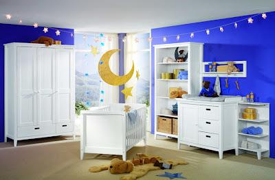 decoración temática cuarto bebé
