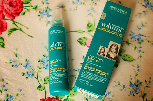 John Frieda Luxurious Volume Blow-Out Spray
