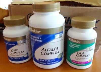 GLA complex Zinc complex Alfalfa complex