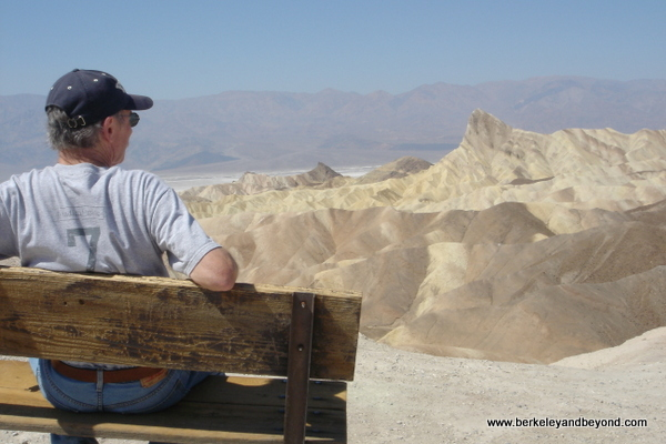 Zabriskie Point in Death Valley National Park in California