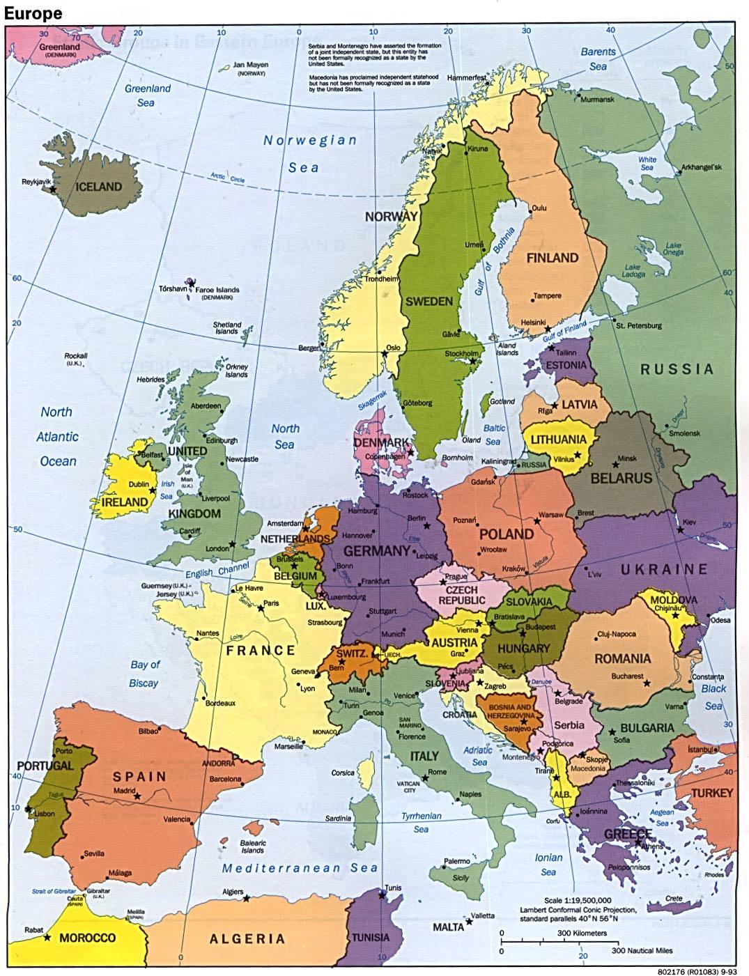 Europa karte fotos europa karte region provinz bereich