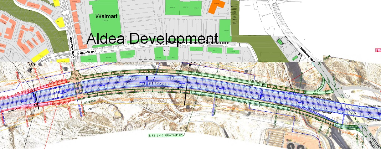 El paso development news i 10 project plans show major for New homes el paso tx west side