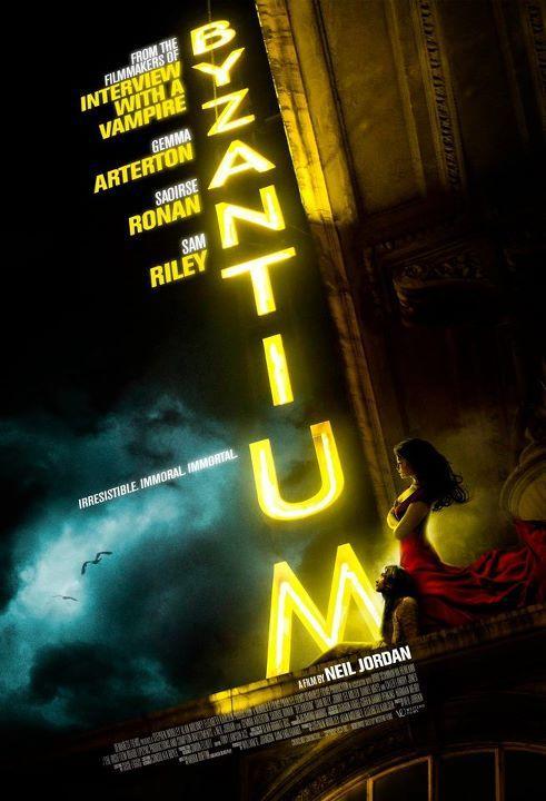 Gemma Artenton y Saoirse Ronan protagoniza Byzantium