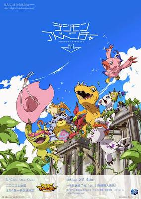 Trailer Promo Terbaru Anime Digimon Adventure tri Diunggah