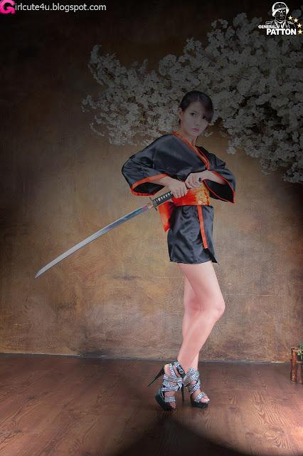 13 Cha Sun Hwa - Samurai Girl-very cute asian girl-girlcute4u.blogspot.com