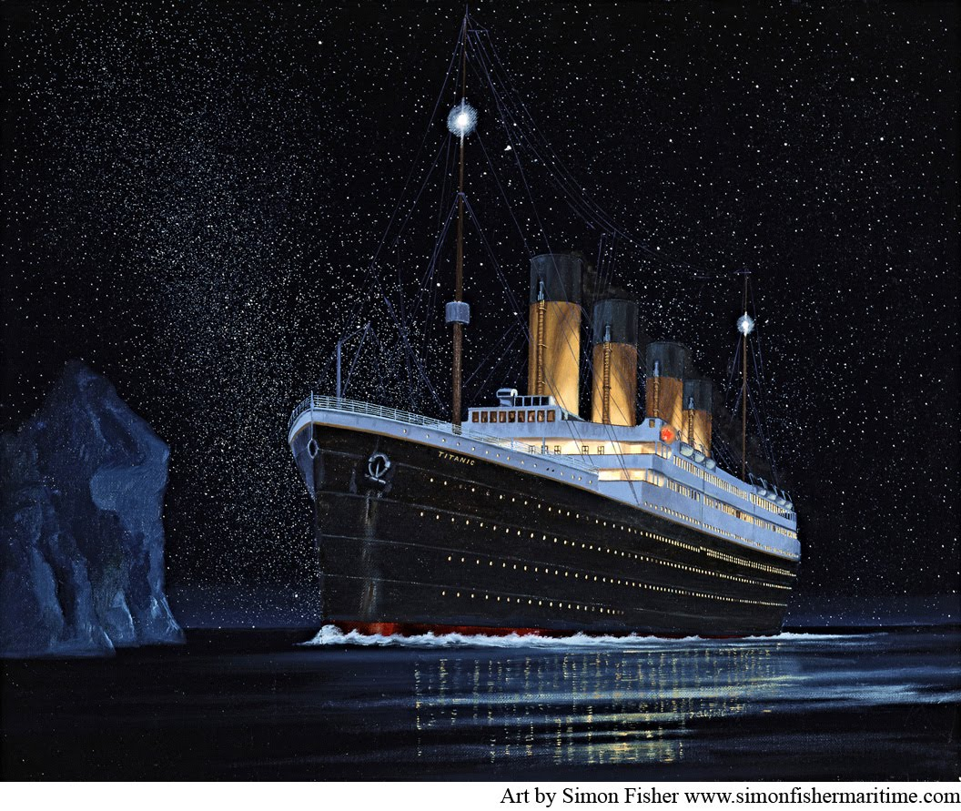 Titanic Wallpaper: No Fear Of The Future: The Iceberg's Accomplice: Did The