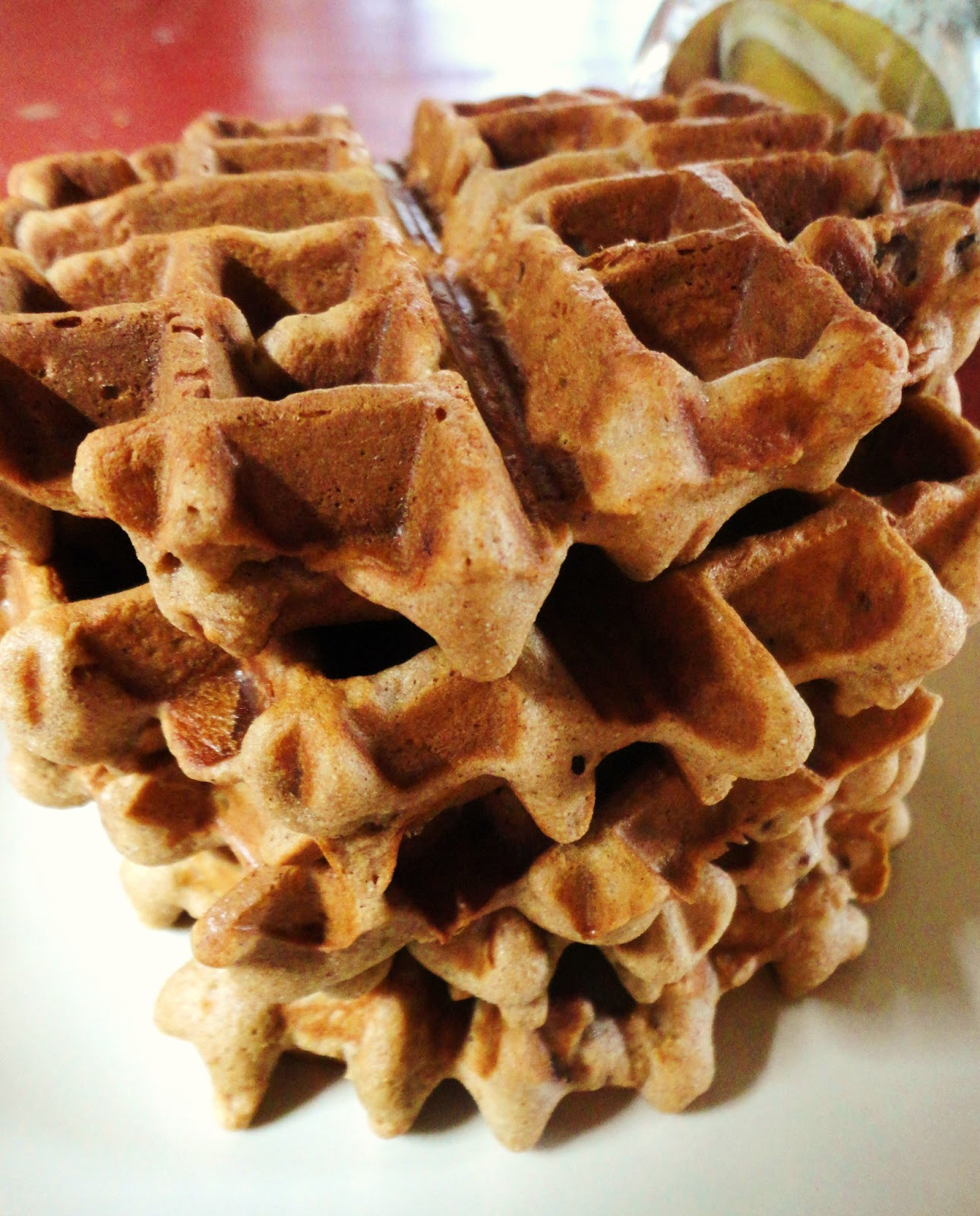 Grain-Free Bacon Pecan Waffles | Rising Moon Nutrition