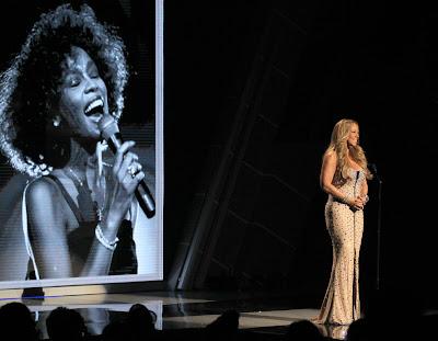 Mariah Carey Whitney Houston Tribute BET Awards