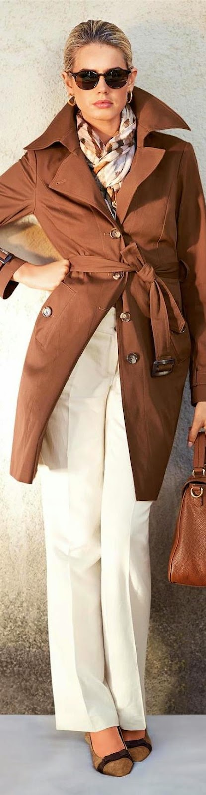Madeleine Trench in Cognac