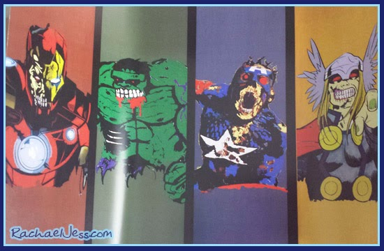 Zombie Avengers print from Infinity Crates