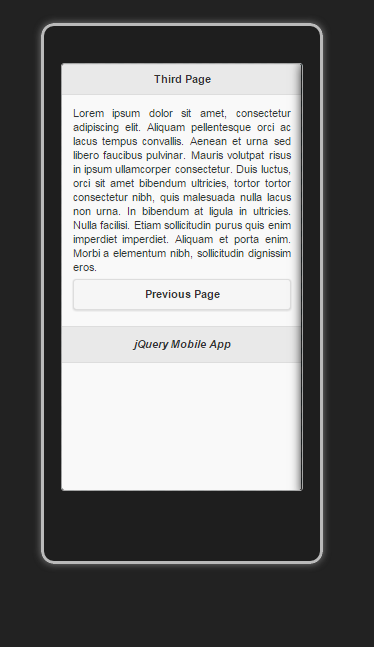 First jQueryMobile App For Android   minutes