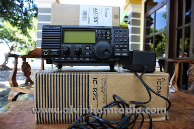 RECEIVER ICOM IC - 75 WITH DSP