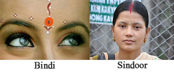 Cerita Mitos: Makna Mengapa Tanda Merah Pada Dahi Wanita India