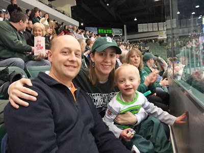 michigan state university vs northern michigan university, hockey, munn arena