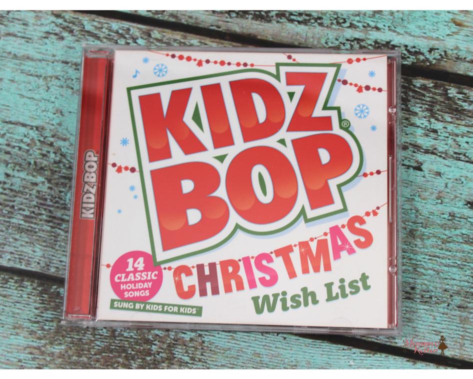 Giveaway KIDZ BOP Christmas Wish List CD - Mommy Katie