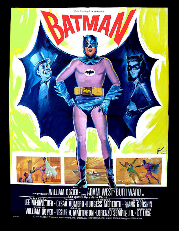 1966 Batman movie poster