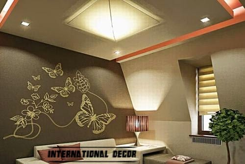 living room lighting and false ceiling
