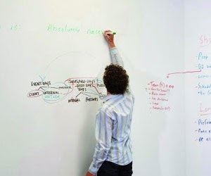 Idea Paint Turns Your Surface into a Dry Erase Board
