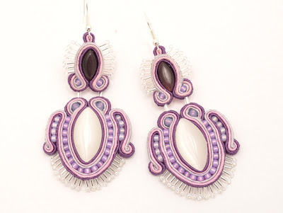 sutasz kolczyki soutache earrings 2