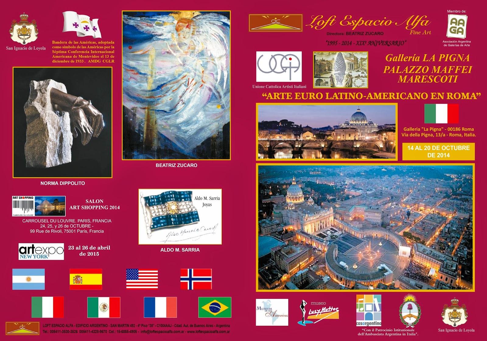 Arte de Argentina_Doris_Blaser_ Premio de Honor en Roma http://www.dianateran01.blogspot.com.ar