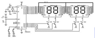 AT89S51 Microcontroller based on Digital Clock