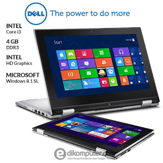 Harga Laptop Dell  Inspiron 11 3148