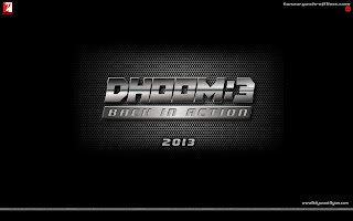 DHOOM 3 First HD Wallpaper