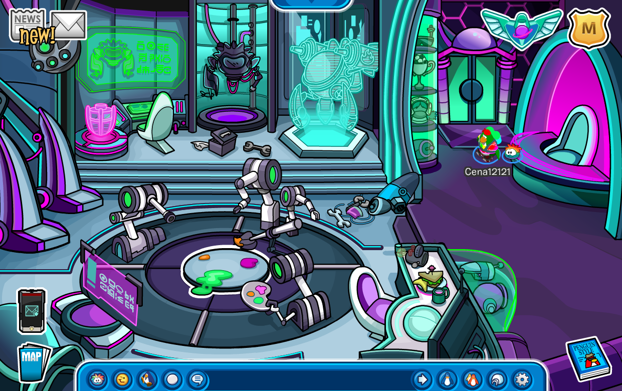 Club Penguin Future Party