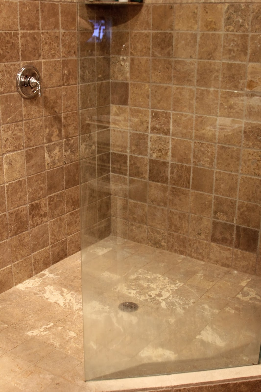 Time Of Our Lives Cleaning HardWater Stains On Glass - Water stains on walls in bathroom