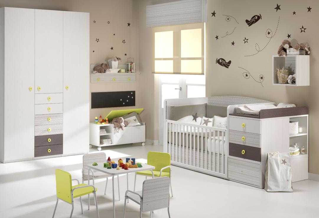 Muebles ros habitaciones de beb decoradas al mas estilo ros - Habitaciones de bebe convertibles ...