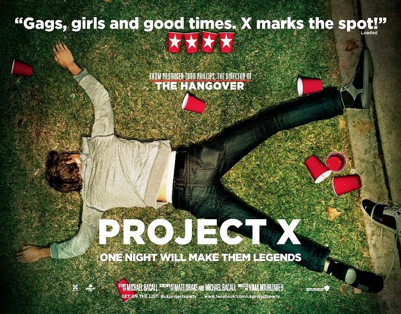 Disponible en DVD, Blu Ray y On Demand - Página 2 Project-x-poster