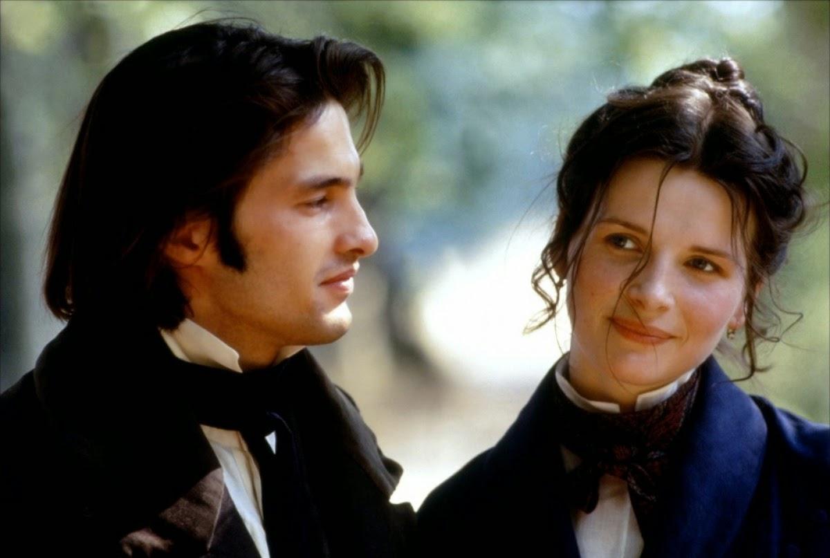 Olivier Martinez et Juliette Binoche dans Le Hussard sur le toit, de Jean-Paul Rappeneau (1995)