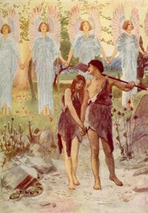 Dilihat Adam dan Hawa bahawa  Nabi Adam Dan Hawa Bertemu