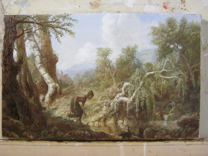 erik koeppel  grisaille painting finished  part 2